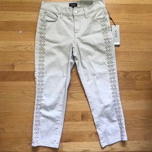 NYDJ cropped pants NWT!